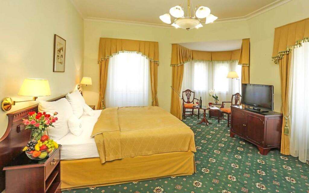 Interiéry pokojů, Hotel Mignon ****, Karlovy Vary