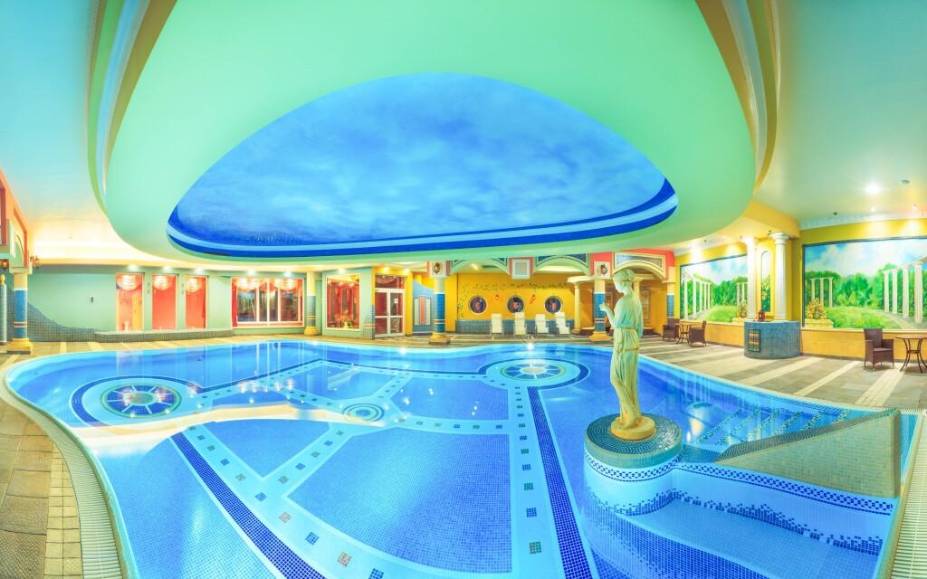V Papuga Park Hotelu vás čeká exotické wellness i bazén