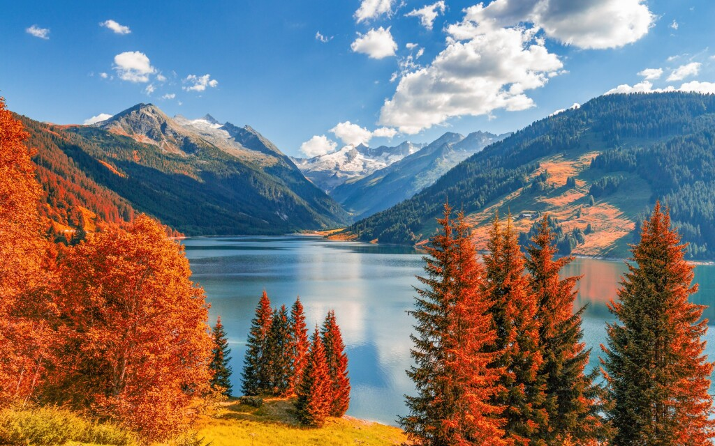 Az Osztrák Alpok minden évszakban gyönyörű