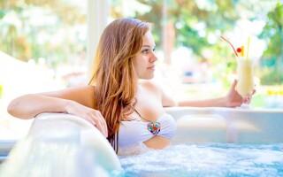 Vychutnejte si dosytosti hotelovou vířivku
