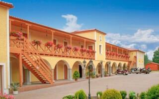 Resort Stein *** u Františkových Lázní stojí u vody