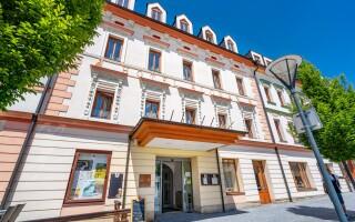 Hotel Slovan ****, oceněný hotel v Jeseníku
