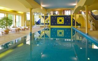Bazén, wellness centrum, Top Hotel Praha