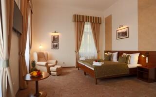Za příplatek se ubytujte v pokoji Superior či Suite