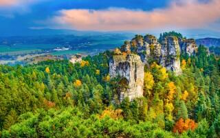 Adršpašské skaly, turistika, výlety, Broumov