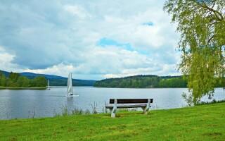 Ubytujete se blízko Lipenské přehrady