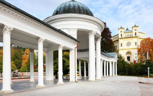 Krásy tohto kúpeľného mesta obdivoval aj známy básnik JW Goethe