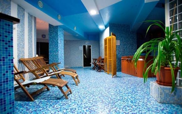 V hotelu najdete moderní wellness centrum