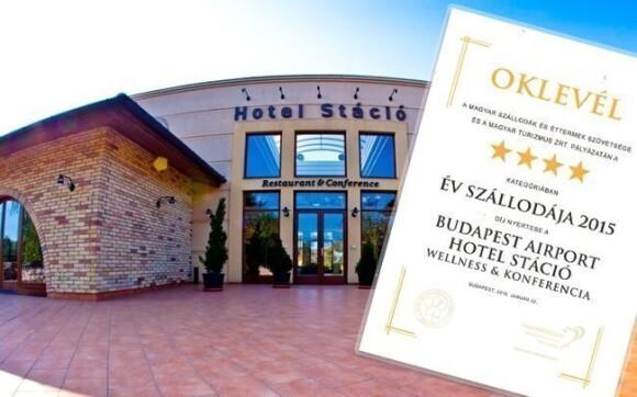 Hotel získal ocenění Nejlepší maďarský 4* hotel roku 2015