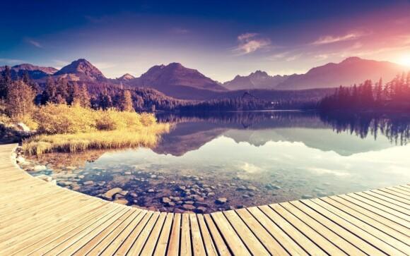 Vysoké Tatry to je úžasná turistika