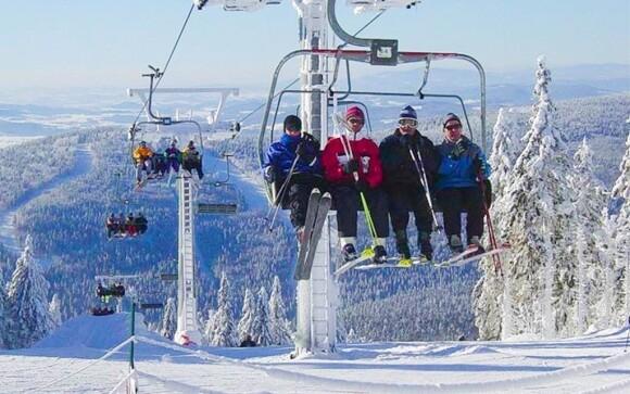 Skvělá lyžovačka v Ski areálu Hochficht