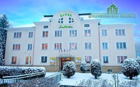 Hotel Subterra leží kousek u Karlových Varů