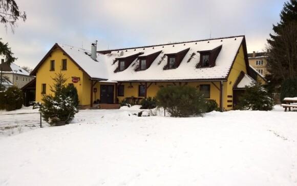 Penzion Jantar je v zimě jako v pohádce