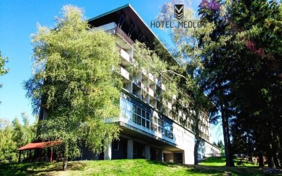 Lokalita hotelu je ideální pro turistiku i cykloturistiku
