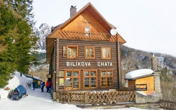 Bilíková chata patří k nejvýše položeným ve Vysokých Tatrách