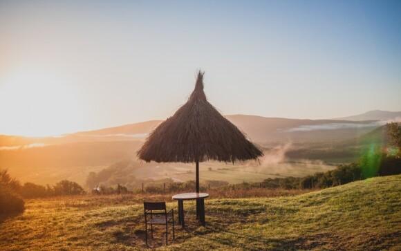 Užijte si nádherný výhled do krajiny, kterou je vila obklopena