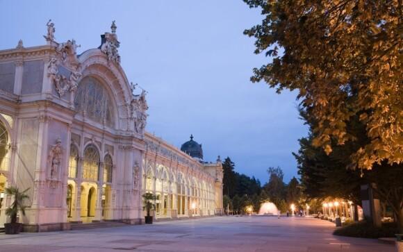 Lázeňská kolonáda zaujme okouzlující architekturou
