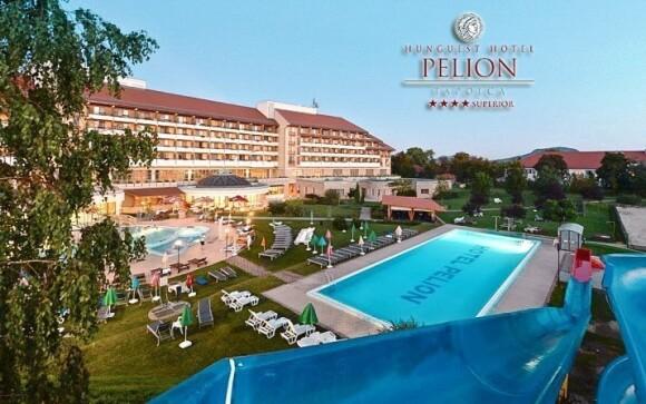 Luxusní hotel Pelion má vlastní wellness s termální vodou