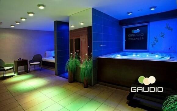 V hotelu Gaudio nechybí wellness centrum