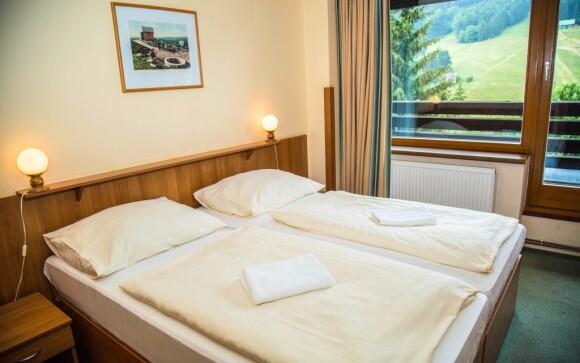 Pohodlné pokoje, Parkhotel Harrachov *** Krkonoše
