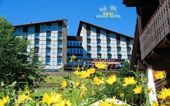 Hotel Zadov***+ je obklopený přírodou ze všech stran