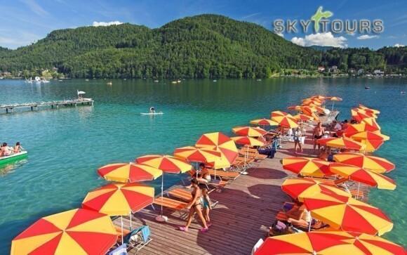 Jezero Klopeiner See přímo vybízí ke koupání