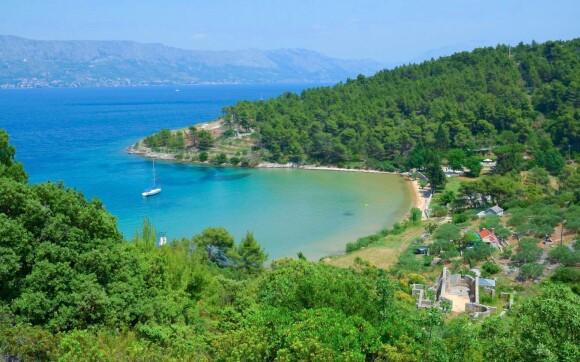 Pláže na ostrove Brač, Chorvátsko