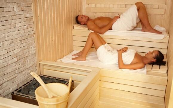 K dispozici jsou hned dvě sauny