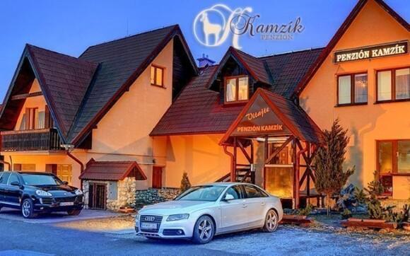 Krásné ubytování v penzionu Kamzík ve Vysokých Tatrách