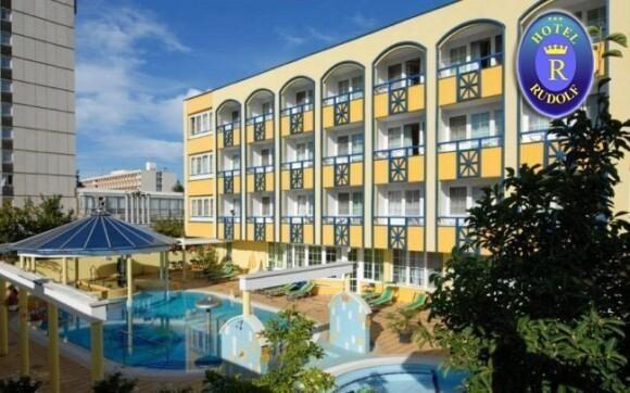 Zažijte skvělou dovolenou v lázeňském městě v hotelu Rudolf***