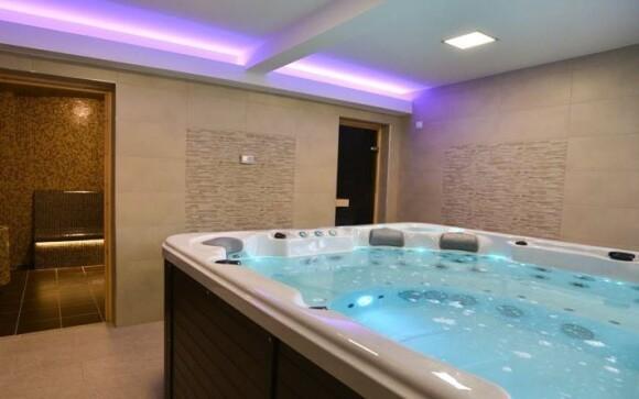 Vo wellness centre si užijete neobmedzený relax