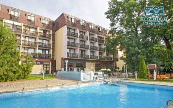 Hotel Danubius Health Spa Resort **** najdete v klidné části Sarváru