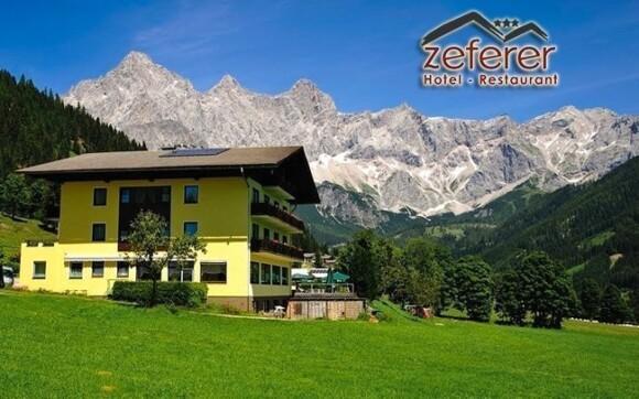 Vyrazte do alpské přírody a ubytujte se v českém hotelu Zeferer