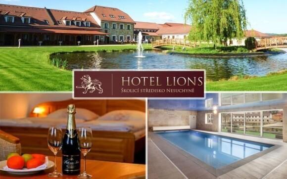 Wellness-balneo pobyt v luxusním Hotelu Lions v Nesuchyni