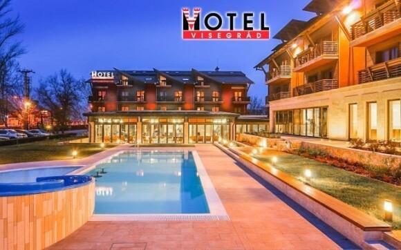 Hotel Visegrád **** má skvělé wellness i venkovní bazény
