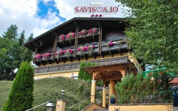 V penzionu Savisalo *** v rakouských Alpách se o vás postará český personál