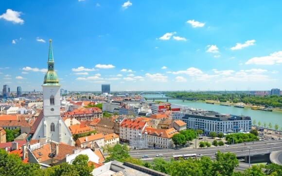 Navštívte centrum Bratislavy a spoznajte dominantu mesta Bratislavský hrad