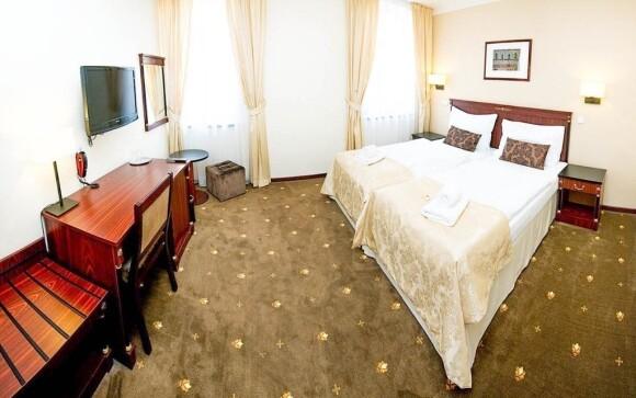 Pokoje hotelu uspokojí i ty nejnáročnější zákazníky
