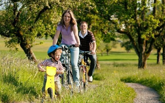 Okolí je ideálním místem pro cyklisty