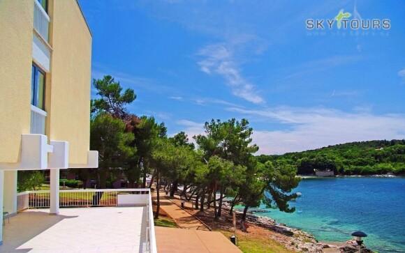 Hotel Centinera *** stojí hned u moře