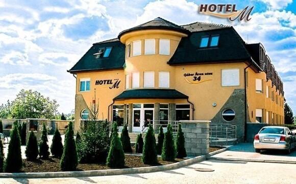 Hotel M **** leží na klidném místě