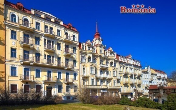 Hotel Romania *** najdete kousek od lázeňské kolonády