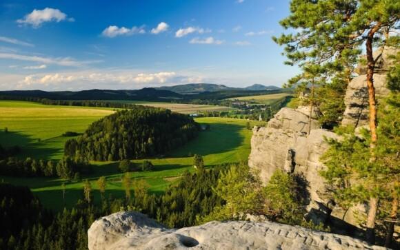 Krásná příroda Adršpachu je ideální pro dovolenou s celou rodinou