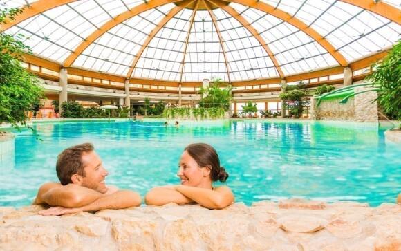 Luxusní termální lázně přímo u hotelu