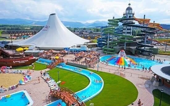 Gino Paradise je vyhlášení termální aquapark