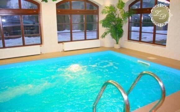 K dispozici je i vnitřní bazén