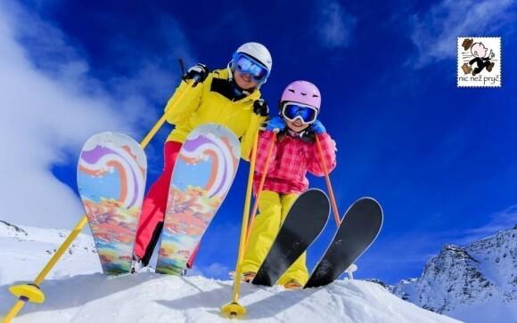 Užijte si hodiny skvělého lyžování
