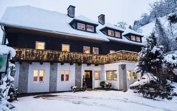 Bertrand je rodinný penzion uprostřed alpské přírody
