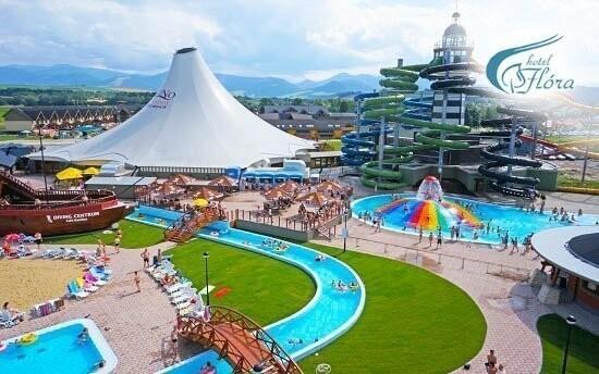 Gino Paradise je vyhlášený termální aquapark