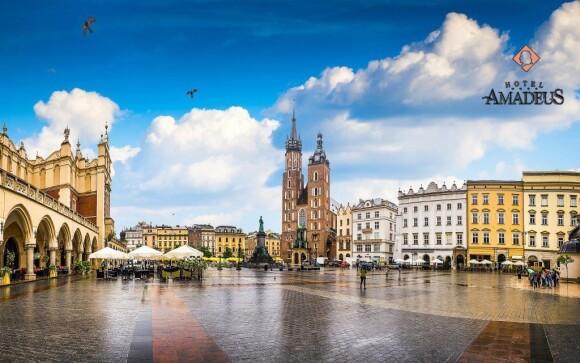 Projděte se historickým centrem Krakova